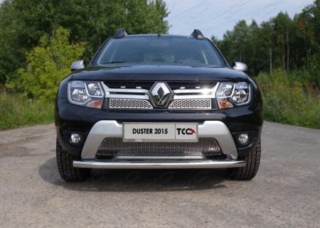 Защита передняя нижняя 60,3 мм Renault Duster 2015